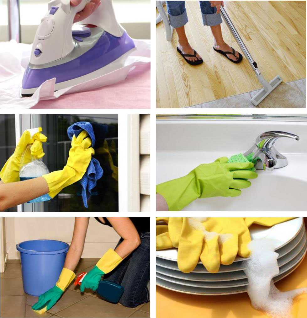 aides ménagères - Nos services